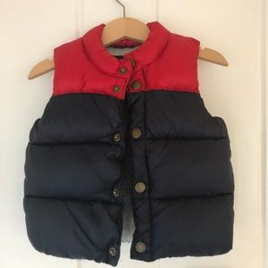 Baby Gap Red and Color Block Vest (18-24 months)